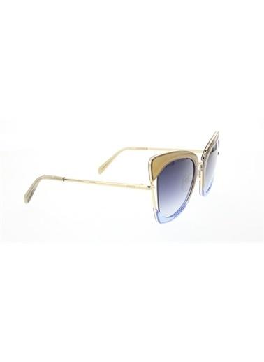 Emilio Pucci  Ep 0074 33W Kadın Güneş Gözlüğü Renkli